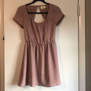Open back urban outfitters mini dress